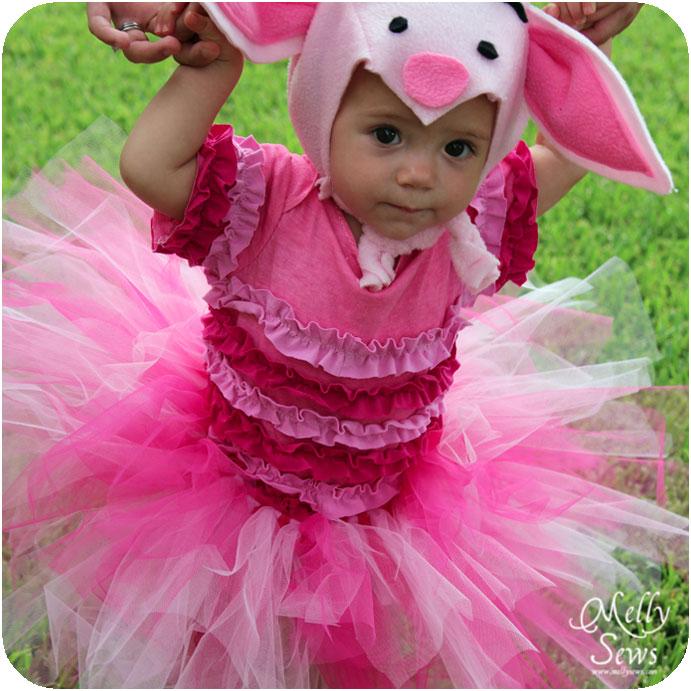 Pig Toddler Halloween Costume Handmade Costume Series DIY Piglet Extraordinary Toddler Halloween Costume Patterns