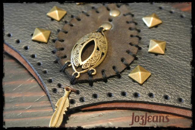 "bracelet ""Isha"" esprit tribal & rock"