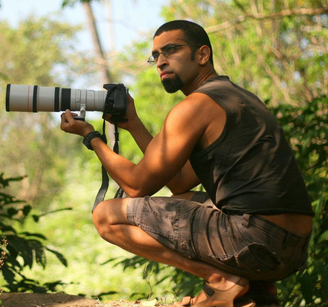 Rahul Alvares, Author and Nature Enthusiast - 'Sir' Indian Movie set | theKeybunch decor blog