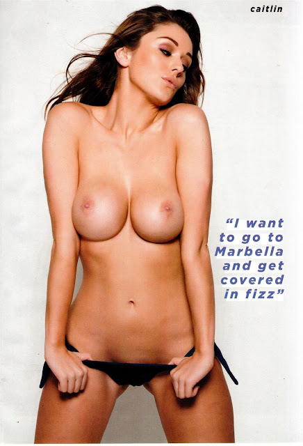 Caitlin Wynters, Topless and Nude - ZIP Magazine - March 22, 2013