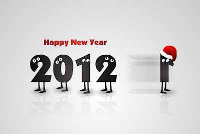 new year wallpapers 2012