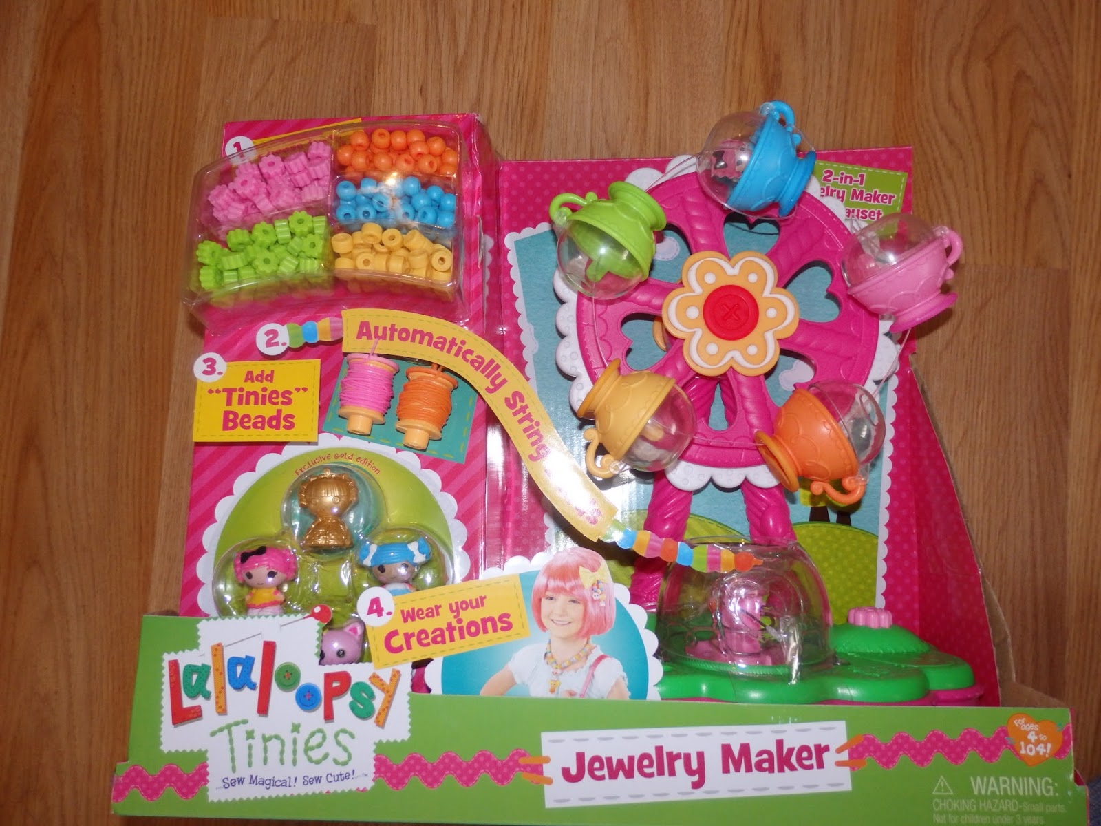 new age mama lalaloopsy tinies jewelry maker playset