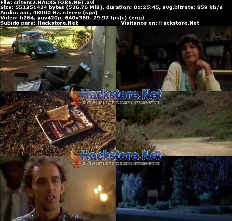 Captura Critters 2 (1988) DVDRip Latino