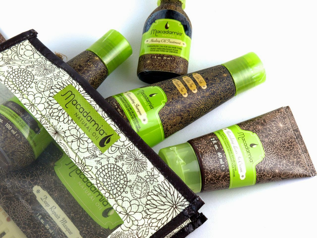 Macadamia Natural Oil Travel Set