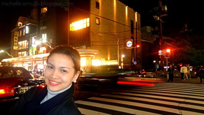 japan kyoto nigh lights