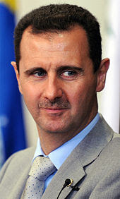 Baschar Hafiz al-Assad- Präsident Syriens