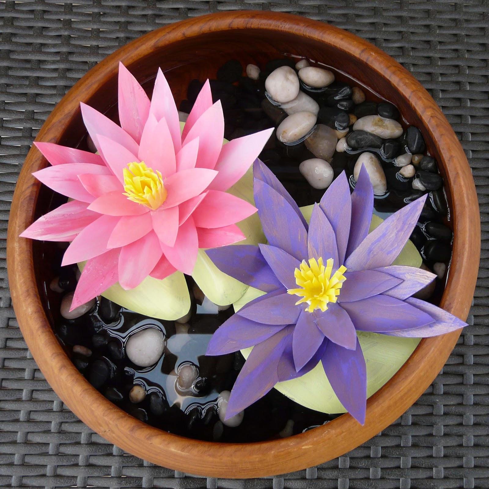 Make water lilies izmirmasajfo