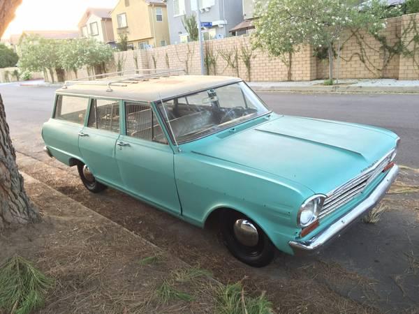 1963 Chevrolet Nova Wagon For Sale Buy American Muscle Car