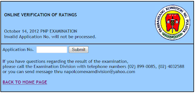 NAPOLCOM online verification of ratings system now available
