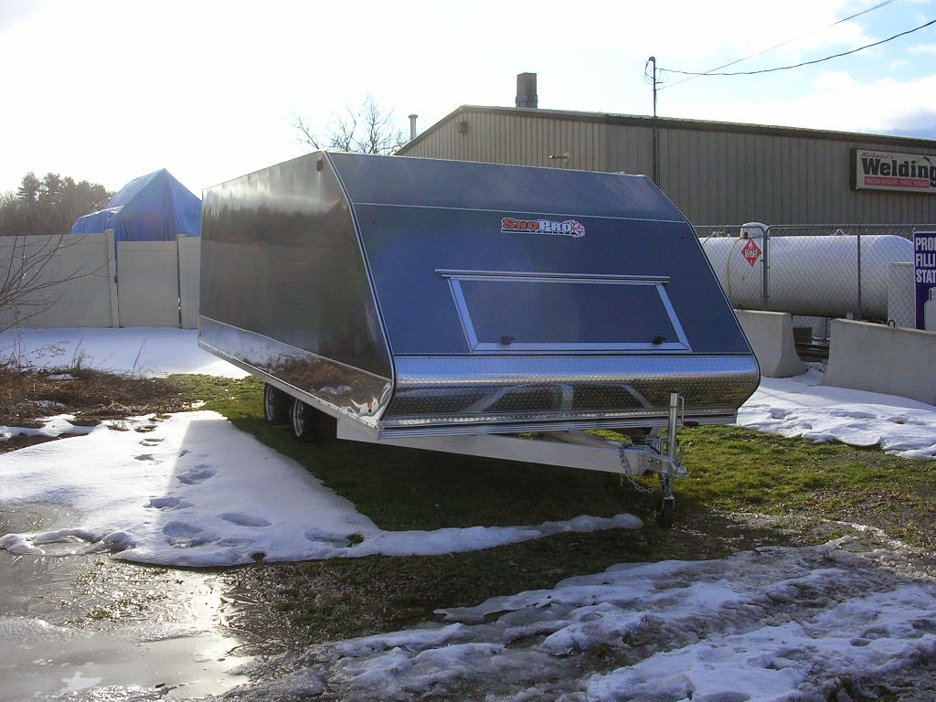 Michaud 39 s trailers winslow maine hybrid 101x20 tandem axle trailers