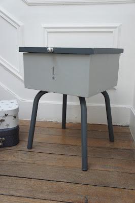 atelier petit toit tabouret coffre. Black Bedroom Furniture Sets. Home Design Ideas