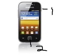 Cara Screenshot Galaxy Young Tanpa Aplikasi