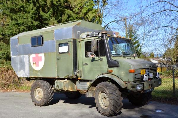 1987 mercedes benz unimog for sale 4x4 cars for Mercedes benz unimog for sale