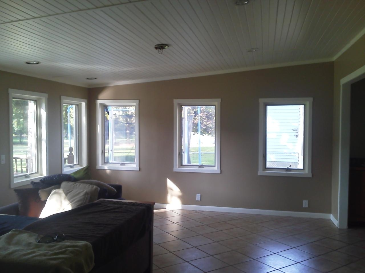 Painted Knotty Pine Painted Pine Ceiling Jr Painting