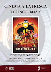"CINEMA A LA FRESCA: ""LOS INCREIBLES 2"""