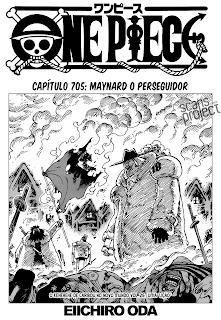 One Piece 705 Mangá Leitura Online Agaleradosanimes.net