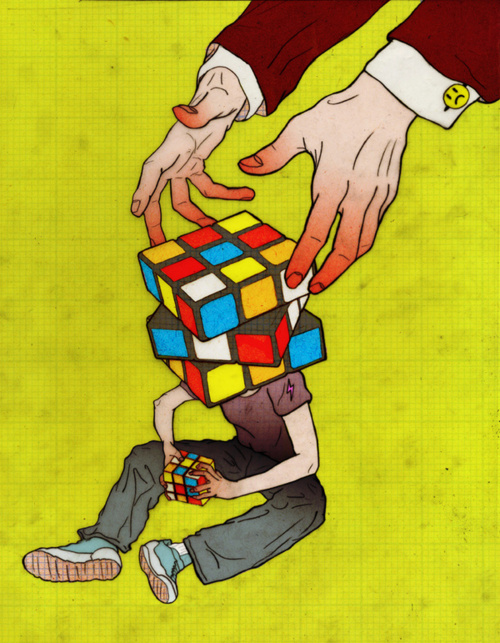 Rubik Open your Mind