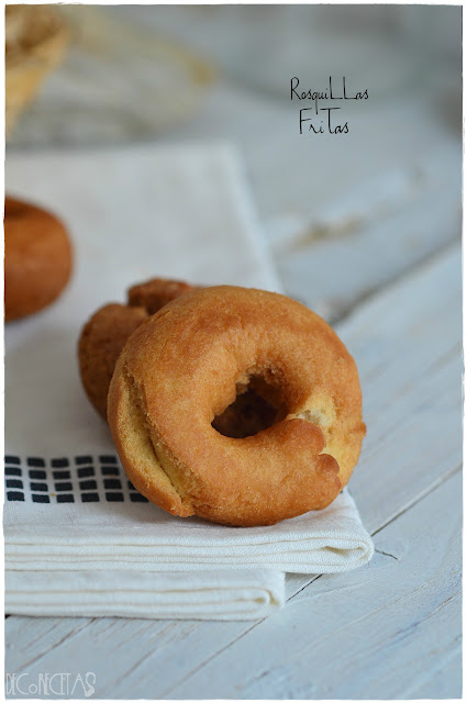 Rosquillas fritas thermomix
