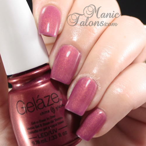 China Glaze Gelaze Gel Polish Awakening Swatch
