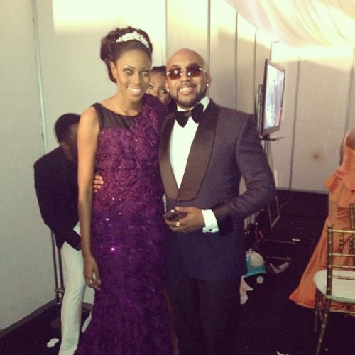 Yvonne Nelson and Banky W