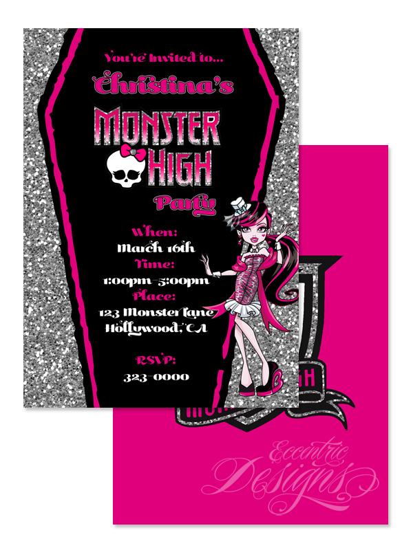 Eccentric Designs by: Latisha Horton: Monster High Birthday ...