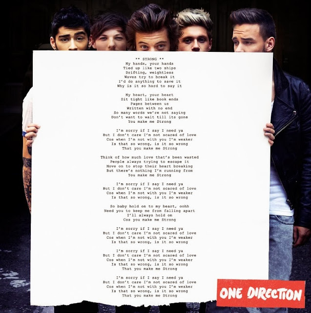 One Direction Song Lyrics Pictures One Direction: Strong ...