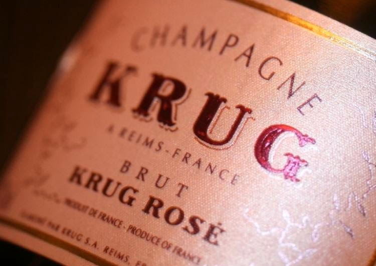 krug champagne etichette bottiglia rosè packaging marketing naming design france