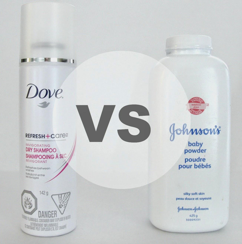Dry Shampoo Vs. Baby Powder