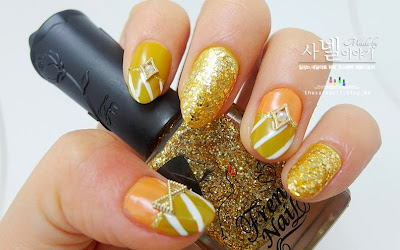 Yellow Nail Polish fitting for Fall