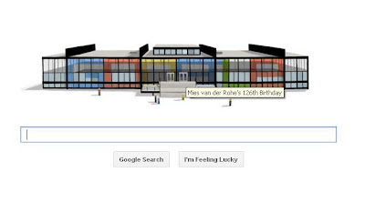 Ludwig Mies van der Rohe 126th birthday
