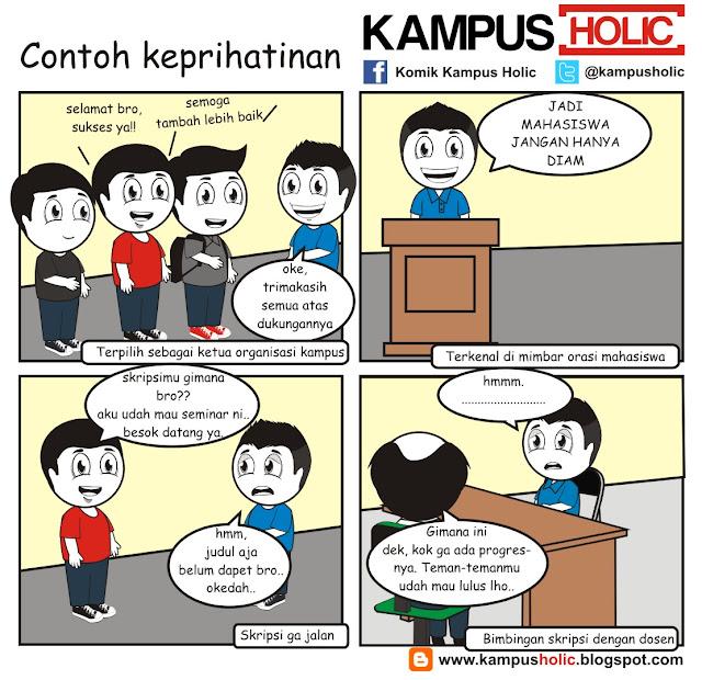 #059 Contoh Keprihatinan sebagai seorang mahasiswa