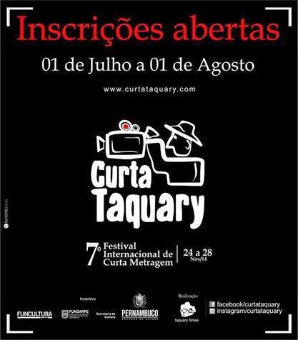 Festival Filmes curta Taquary