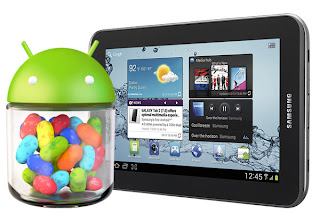 Galaxy Tab 2 7.0 Jelly Bean