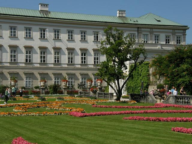 Salzburg - Ogród Mirabell