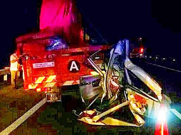 Karpal Singh Maut Kemalangan Jalan Raya