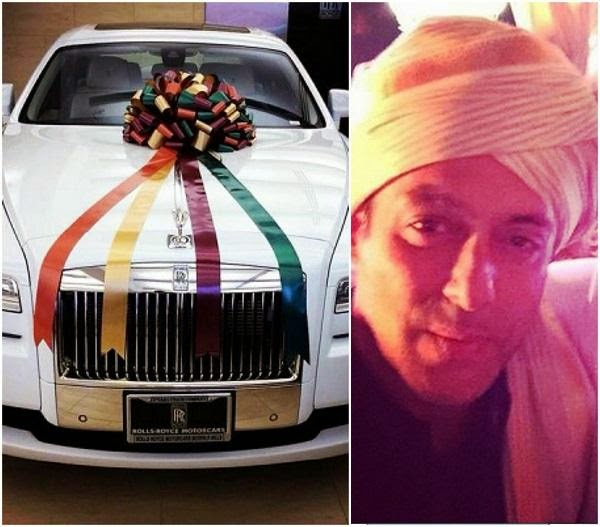 Wedding Gift To Sister In India : As a wedding present, Salman gifted the newly weds Arpita and Aayush ...