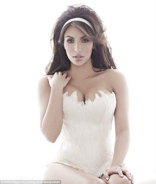 Kim Kardashian,Cosmopiltan UK Magazine,Photoshoot