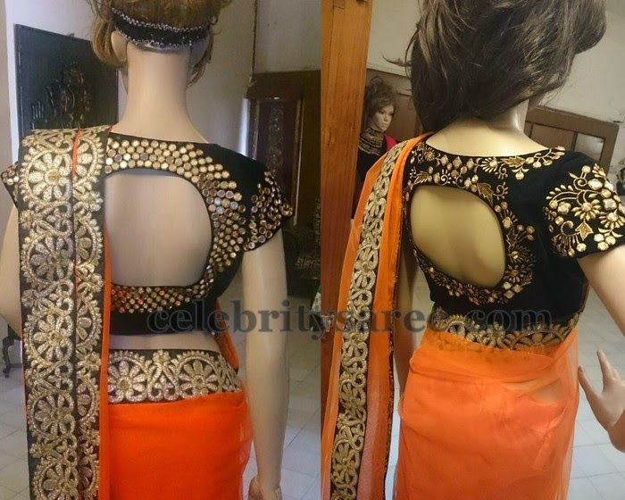 Mirror Work Blouses by Rekha's Couture