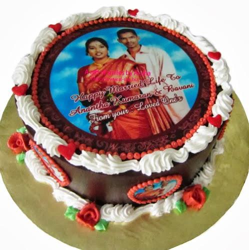 Wedding Cake Edible Image