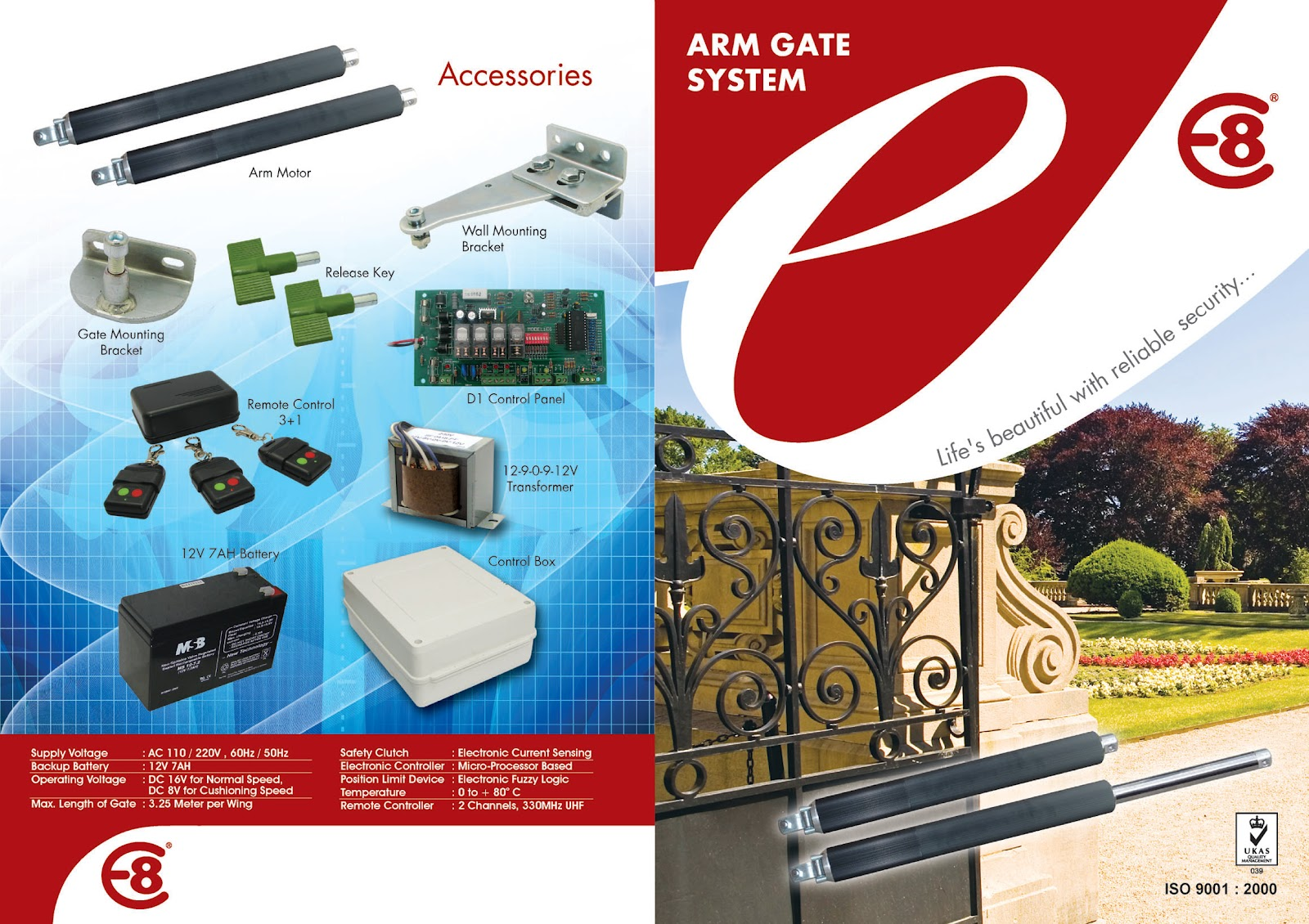 Autogate Security Supply Arm Gate System Swing Wiring Diagram
