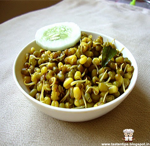 Moong Sprouts Stir Fry