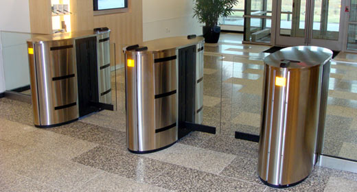 Optical Turnstiles - Modern Form AND Essential Function & The Door Company Blog: Optical Turnstiles - Modern Form AND ...