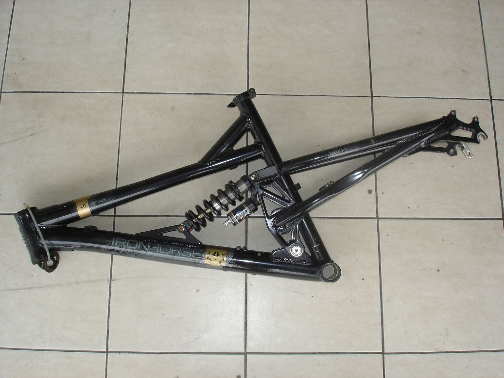 Spike Bikez: Iron Horse Warrior 4.0 Frame. Used.