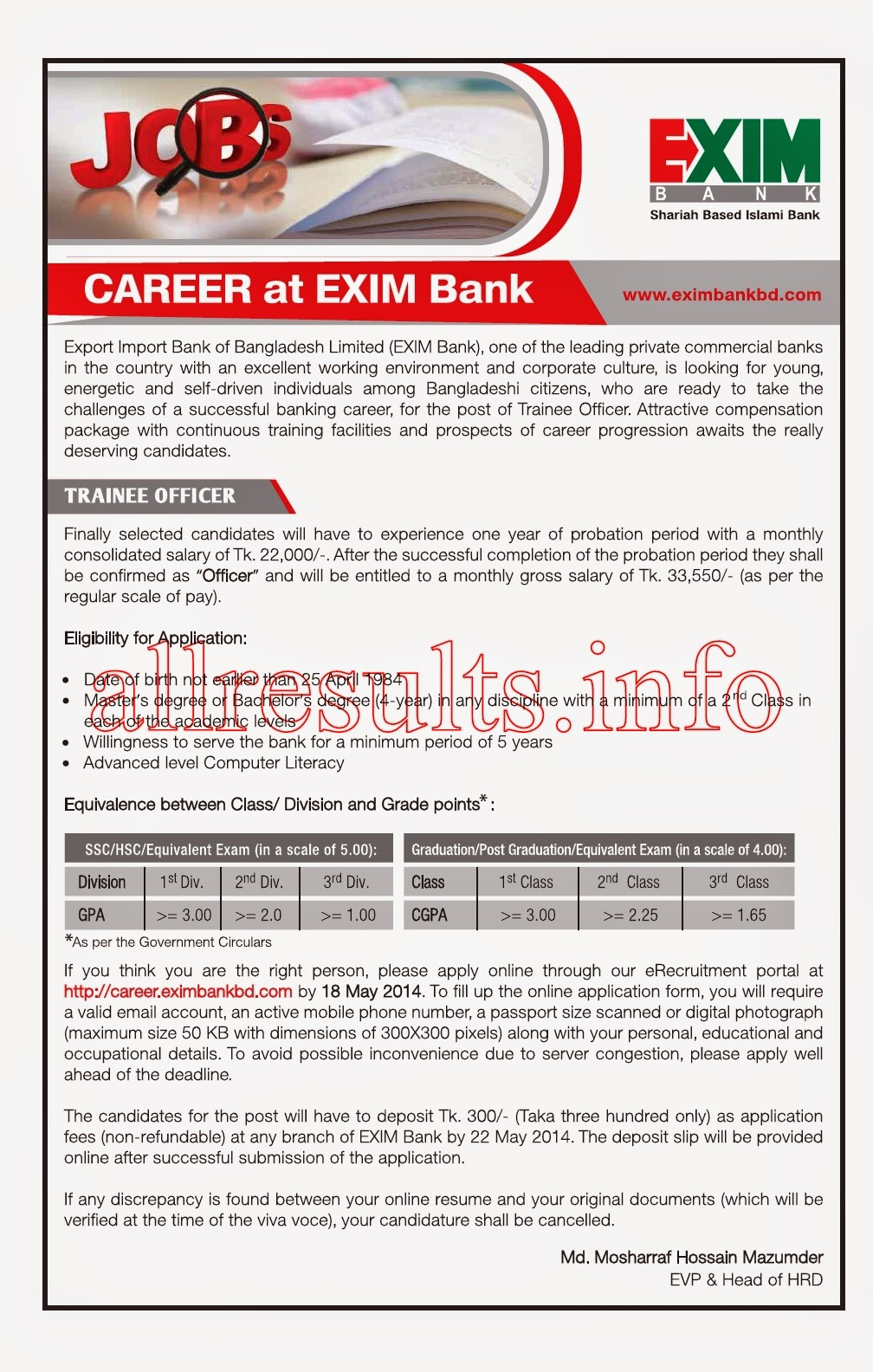 questionnaire of recruitment and selection process of islami bank bangladesh ltd Social islami bank bangladesh limited (sibl) is a top commercial private bank in bangladesh recently the social islami bank published new job circular for people it's post position name assistant officer (cash) .
