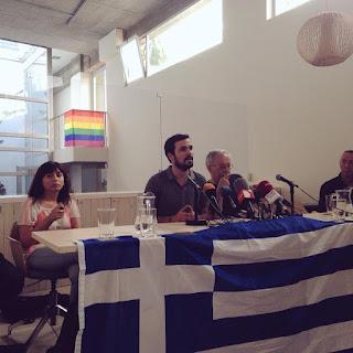 La izquierda parlamentaria apoya el No en el referéndum de Grecia