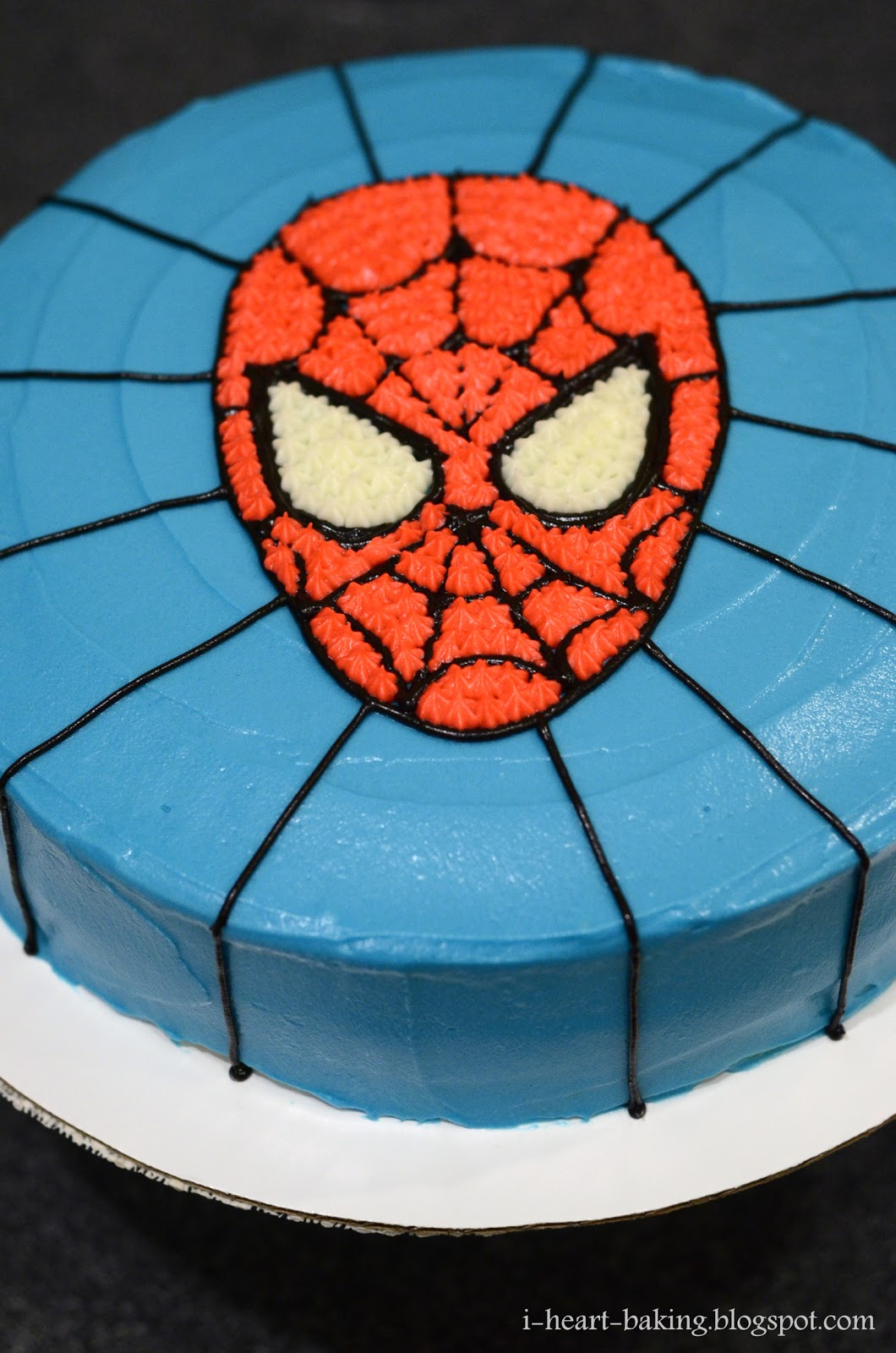 Black spiderman cakes - photo#27