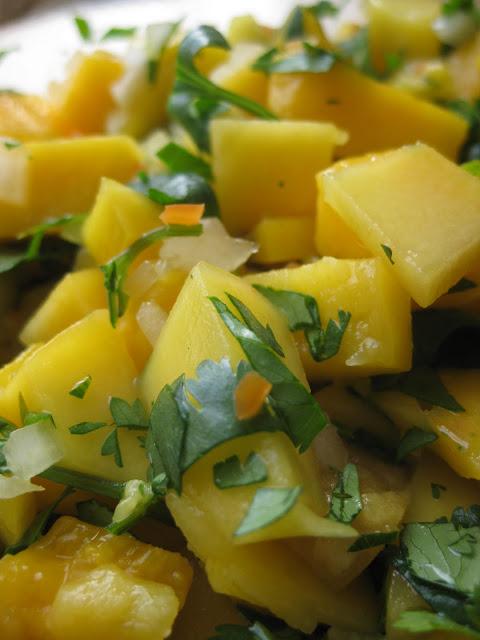Food Snobbery is my Hobbery: Mango Habanero Salsa