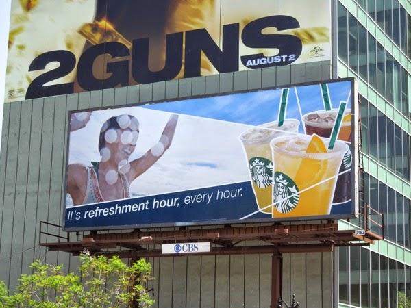 Starbucks Refreshers billboard Jul 2013