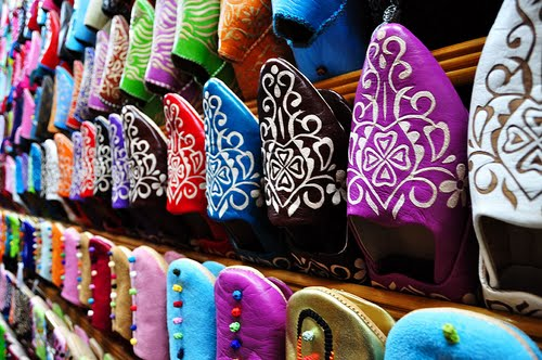 1/15/13 YES Abroad pic of the day - Morrocco (Morroccan Slippers)