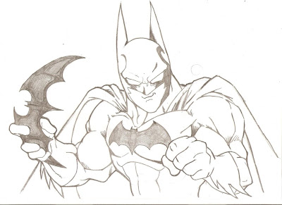akira toriyama, batman, fan art, superheroe, manga